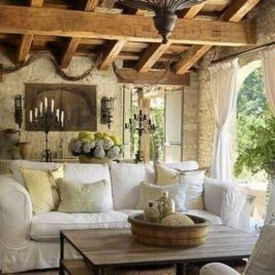 Impressive French Style Living Room Designs Ideas 03