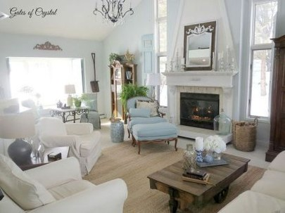 Impressive French Style Living Room Designs Ideas 42