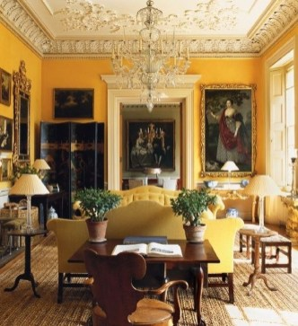 Impressive French Style Living Room Designs Ideas 47