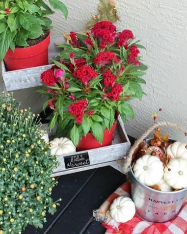 Incredible Autumn Decorating Ideas For Backyard 33
