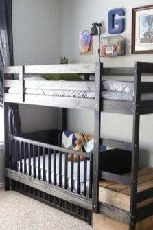 Inspiring Shared Kids Room Design Ideas 23
