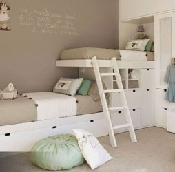 Inspiring Shared Kids Room Design Ideas 29