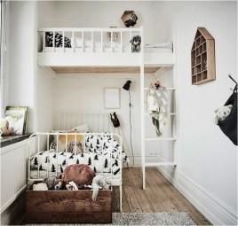 Inspiring Shared Kids Room Design Ideas 36