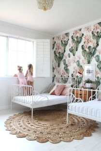 Inspiring Shared Kids Room Design Ideas 38