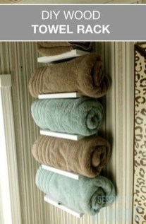 Luxury Towel Storage Ideas For Bathroom 12
