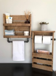 Luxury Towel Storage Ideas For Bathroom 22