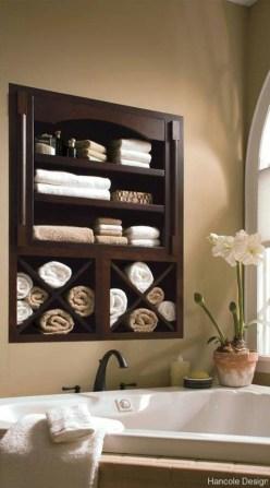 Luxury Towel Storage Ideas For Bathroom 27