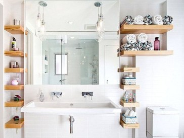 Luxury Towel Storage Ideas For Bathroom 46