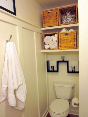 Luxury Towel Storage Ideas For Bathroom 50