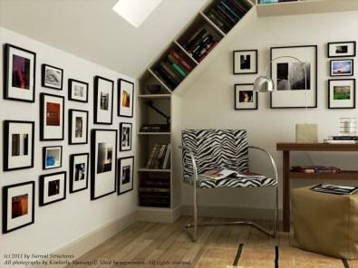 Modern Vibrant Rooms Reading Ideas 38