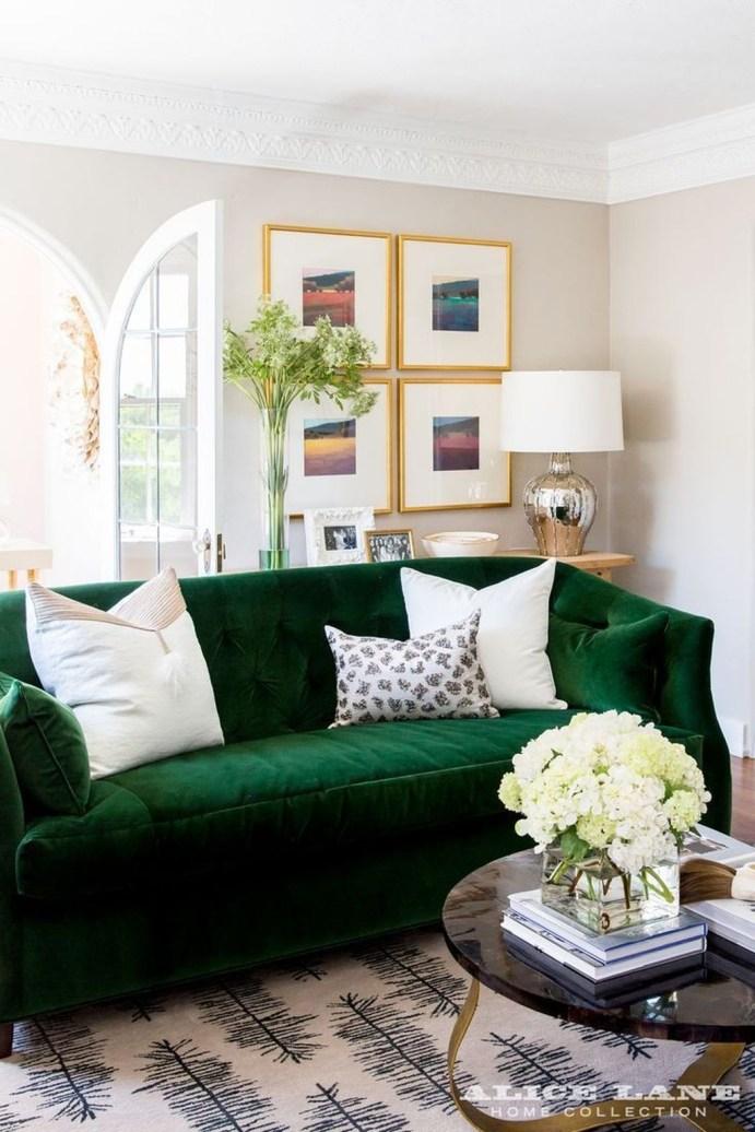 Popular Velvet Sofa Designs Ideas For Living Room 04