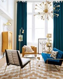 Popular Velvet Sofa Designs Ideas For Living Room 07