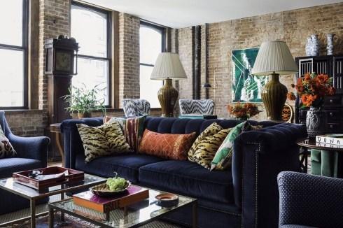 Popular Velvet Sofa Designs Ideas For Living Room 18