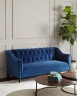 Popular Velvet Sofa Designs Ideas For Living Room 28