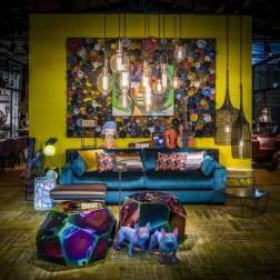 Popular Velvet Sofa Designs Ideas For Living Room 37
