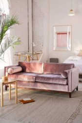 Popular Velvet Sofa Designs Ideas For Living Room 38