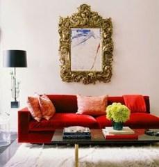Popular Velvet Sofa Designs Ideas For Living Room 45