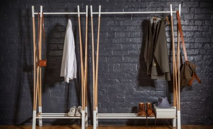 Stunning Clothes Rail Designs Ideas 12