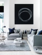 Catchy Living Room Designs Ideas With Bold Black Furniture 29
