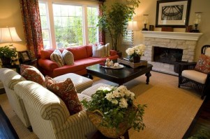 Catchy Living Room Designs Ideas With Bold Black Furniture 40