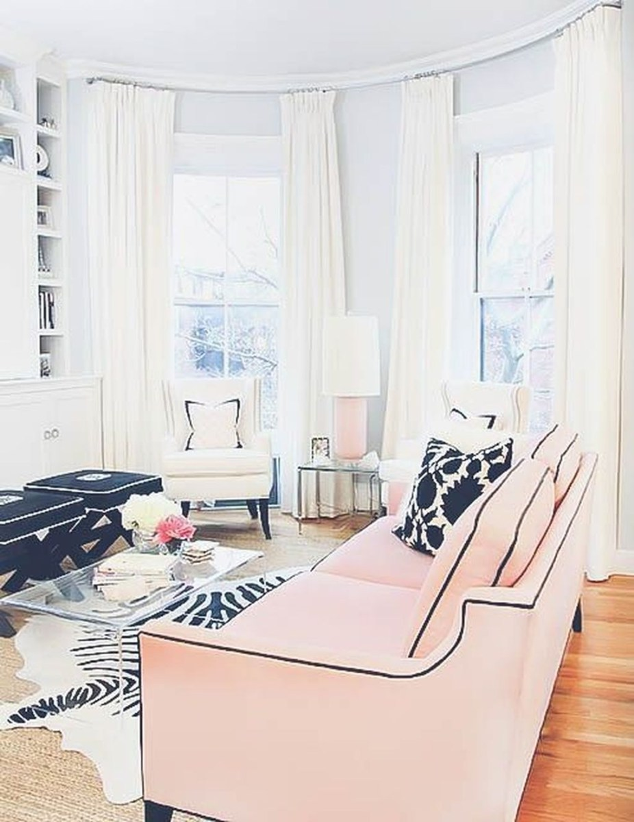 Catchy Living Room Designs Ideas With Bold Black Furniture 49