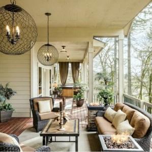 Comfy Porch Design Ideas For Backyard 05