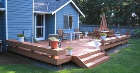 Comfy Porch Design Ideas For Backyard 13