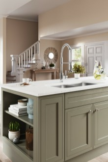 Creative Painted Kitchen Cabinets Design Ideas 04