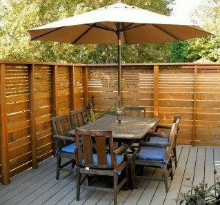 Cute Garden Fences Walls Ideas 25