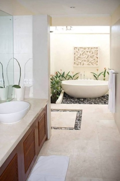 Elegant Bathtub Design Ideas 48