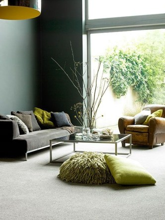 Enchanting Living Rooms Ideas With Combinations Of Grey Green 32