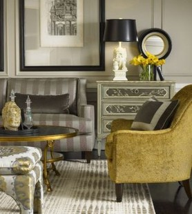 Enchanting Living Rooms Ideas With Combinations Of Grey Green 40