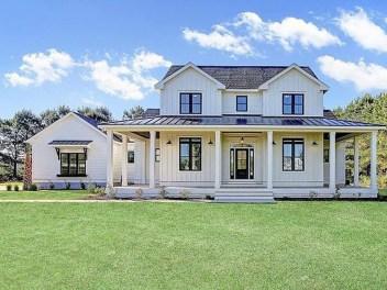 Fabulous White Farmhouse Design Ideas 03