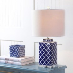 Fancy Living Room Decor Ideas With Ginger Jar Lamps 11