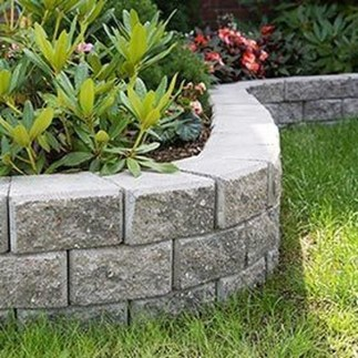 Gorgeous Front Yard Retaining Wall Ideas For Front House 01