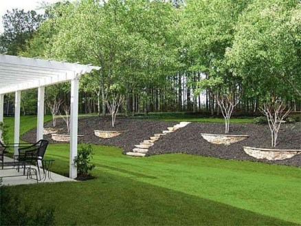 Gorgeous Front Yard Retaining Wall Ideas For Front House 40