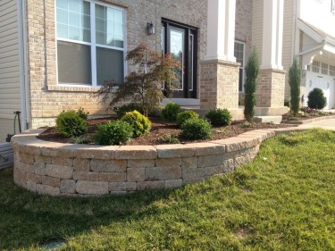 Gorgeous Front Yard Retaining Wall Ideas For Front House 46