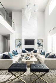 Impressive French Style Living Room Designs Ideas 05