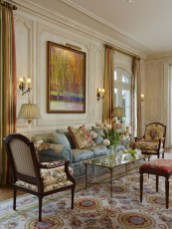 Impressive French Style Living Room Designs Ideas 15