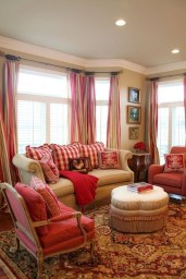 Impressive French Style Living Room Designs Ideas 24