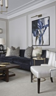 Impressive French Style Living Room Designs Ideas 38