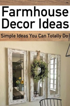 Perfect Farmhouse Decor Ideas For Home 08