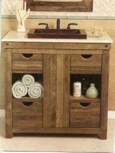 Popular Farmhouse Small Bathroom Decorating Ideas 02