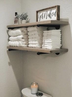Popular Farmhouse Small Bathroom Decorating Ideas 25