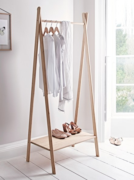 Stunning Clothes Rail Designs Ideas 16