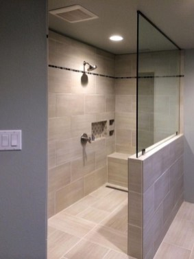 Awesome Bathroom Shower Ideas For Tiny House 09