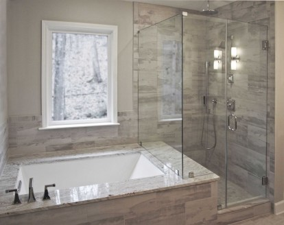 Awesome Bathroom Shower Ideas For Tiny House 25