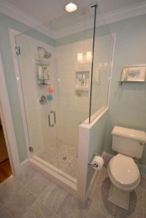 Awesome Bathroom Shower Ideas For Tiny House 47