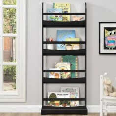 Cozy Bookcase Ideas For Kids Room 12