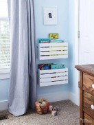 Cozy Bookcase Ideas For Kids Room 13
